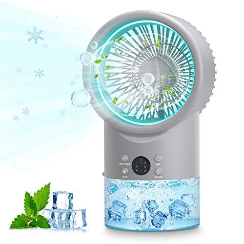 Mobile Klimageräte Mini Luftkühler, Air Cooler Klimagerät Mini 4 in 1...