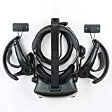 Updated Wall Mount Stand and Organizer for Oculus Quest & Oculus Rift S & Valve Index &Oculus Go &HTC Vive Pro