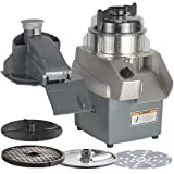 Hobart HCC34-1A Combination Food Processor with Slicer, Shredder and Dicing Plates