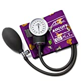 ADC Prosphyg 760 Pocket Aneroid Sphygmomanometer with Adcuff Nylon Blood Pressure Cuff, Small Adult, Animals Print