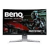 BenQ EX3203R 32 inch 144Hz Curved Gaming Monitor | WQHD (2560 x 1440) | FreeSync 2 | DisplayHDR 400 (31.5' Display)