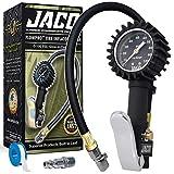 JACO FlowPro Tire Inflator with Pressure Gauge - 100 PSI