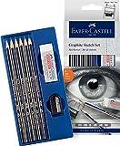 Faber-Castell Goldfaber - Set de crayons graphite pour croquis