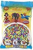 Hama - 201-50 - Loisirs Créatifs - Sachet 3000 Perles à Repasser - Taille Midi...