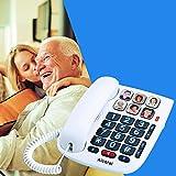Alcatel TMAX 10 - Téléphone Filaire Larges Touches pour Les séniors, 6...