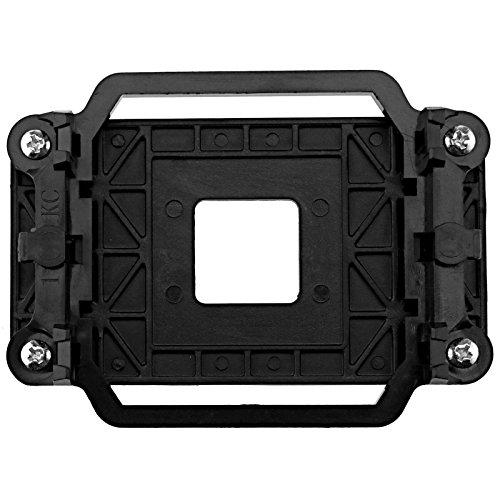 D2D Nero Plastica CPU Refrigeratore di Raffreddamento Ventola di Ritenzione Dissipatore Staffa di...