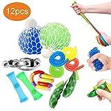 Oksano Jouets sensoriels 12 Pièce, Jouets anti stress Autism fidget Toys,...