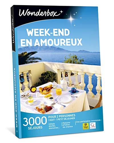 Wonderbox - Coffret cadeau duo - WEEK-END EN AMOUREUX - 2900 séjours...