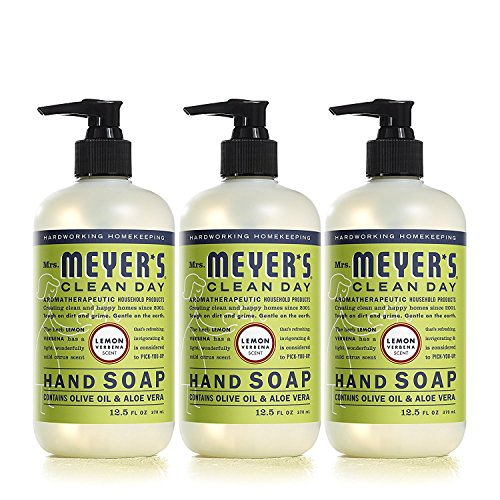 Mrs. Meyer's Clean Day Liquid Hand Soap, Cruelty Free and...