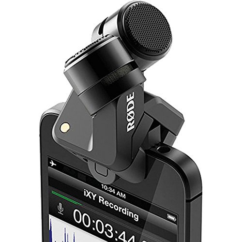 RODE iXY Lightning デジタル・ステレオ・マイクロフォン for iPhone 6(Plus)/6s(Plus)/5/5c/5s 003105 並行輸入品
