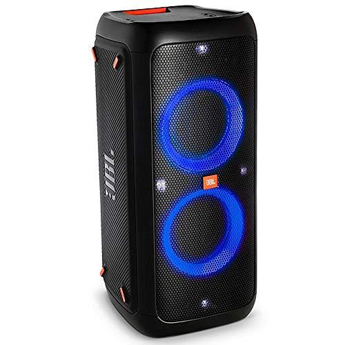 Caixa de Som Jbl Party Box 300, Bluetooth, Preta