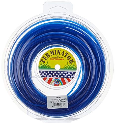 Maniver FIN490 Filo Decespugliatore Professionale, Blu, 3.3 mm x 50 m