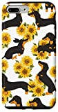 iPhone 7 Plus/8 Plus Dachshund Mom Case Sunflower dog Women gift Case