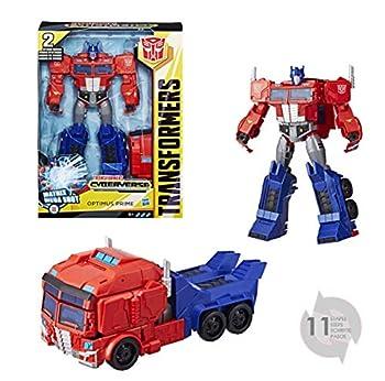 Passend zu Transformers Cyberverse Verwandeln und Action! In wenigen Schritten verwandelbar Überraschende Attacke im Roboter- und im Fahrzeugmodus ab 6 Jahren geeignet