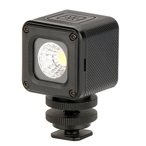 Impermeabile Mini LED illuminazione continua Super luminoso illuminazione per videocamere GoPro DSLRS