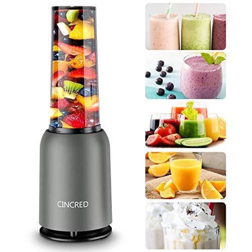 [Updated 2020 Version] Personal Countertop Blender for Milkshake, Fruit Vegetables Drinks, Smoo…