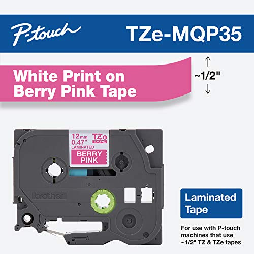 Brother Laminated Label Tape