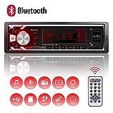 Autoradio Bluetooth Main Libre, 2 Ports USB Poste Stéréo Radio, 1 Din...