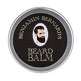 Baume à Barbe - Benjamin Bernard - Cire à Barbe de Luxe - Longue Tenue - Favorise la Pousse de la Barbe - Soin pour Barbe - Parfum Léger - 100g