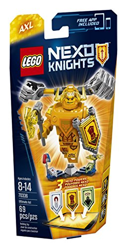 LEGO Nexo Knights 70336 Ultimate Axl Building Kit (69 Piece)