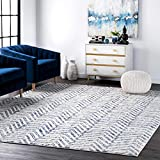 nuLOOM Rosanne Geometric Area Rug, 6' 7' x 9', Blue