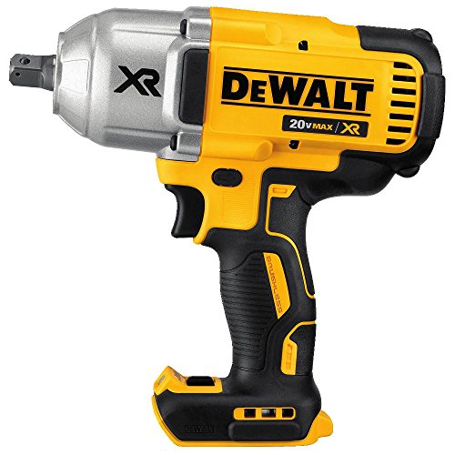 DEWALT 20V MAX XR Brushless High Torque 1/2' Impact Wrench with Detent Anvil, Cordless, Tool Only (DCF899B)