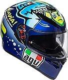 AGV(エージーブイ) バイクヘルメット フルフェイス K-3 SV MPLK ROSSI MISANO 2015 (ロッシ ミサノ 2015) L (59-60cm) 030190MF004-L