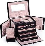 Black Leather Jewelry Box...