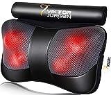 VIKTOR JURGEN Neck Massage Pillow Shiatsu Deep Kneading Shoulder Back...
