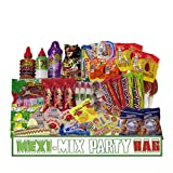Mexican Candy Assortment Snacks (46 count) Dulces Mexicanos, Variety of Spicy Candy, Sweet, Sour, Includes Pelon, Mazapan, Manzela, Rebanaditas, Rockaleta, Lucas Candy, Vero, Makes A Great Gift. (46)