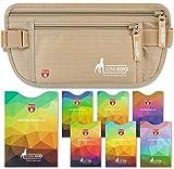 Ceinture de Voyage RFID Pochette de Voyage avec Poches Anti RFID pour Une...