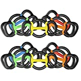 GRIPBELL Dumbbells Kettlebells Plates and Other Handheld Weights Home Gym Workout Set for Men & Women All-in-one Universal Replacement (Full Set (Pair))