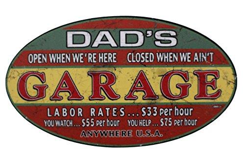 1x Dads Garaje Old School Motorcycles de Finest Folia Pegatinas Cafe Racer Retro # 14