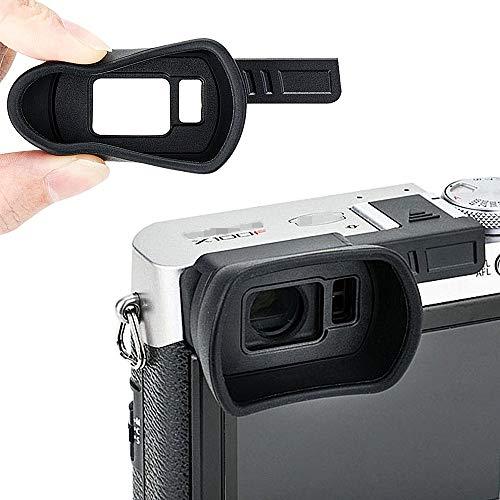 Kiwifotos アイカップ 富士フイルム Fujifilm X100F 対応 ホットシュー装着 シリコン