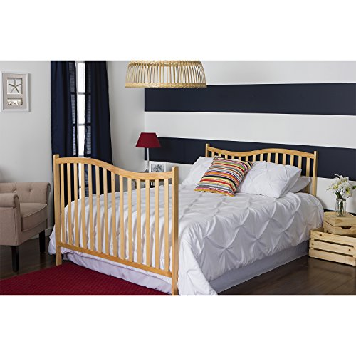 Product Image 6: Dream On Me Chelsea 5-in-1 Convertible Crib, Natural
