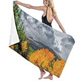 Toallas grandes de gran tamaño y ligeras Manta que cambia de colores: el nuevo abrigo de Colorado Toalla de baño de microfibra Toalla de playa Manta de playa Toalla de secado rápido para viajes S