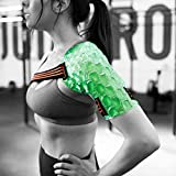 Kool'N FX Hot & Cold Therapy, Reusable Shoulder & Arm Gel Pack with Adjustable Straps - Great for Sports Injuries, Rotator Cuff, Rheumatoid Arthritis, Bursitis,Tendinitis & More (Small, Right)