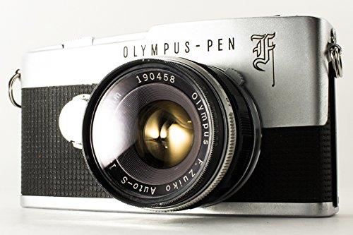 OLYMPUS オリンパス PEN-FT 一眼レフカメラ OLYMPUS-PEN F フィルムタイプ レンズ(Olympus G.Zuiko Auto-S 1:1.8 f=38mm)付