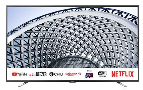 Sharp Aquos LC-40BG5E - 40' Smart TV Full HD LED, Wi-Fi, DVB-T2/S2, 1920 x 1080 Pixels, Nero, suono...