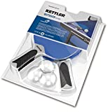 Kettler HALO 5.0 Indoor/Outdoor Table Tennis Bundle: 2 Player Set (2 Rackets/Paddles and 3 Balls)