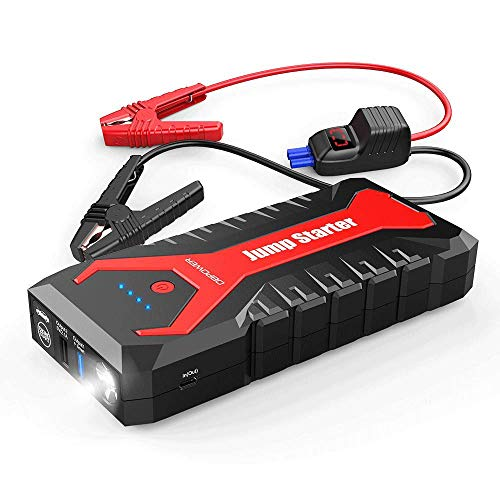 DBPOWER 2000A 20800mAh Portable Car Jump Starter (up to 8.0L Gas/6.5L Diesel Engines) Auto Battery...