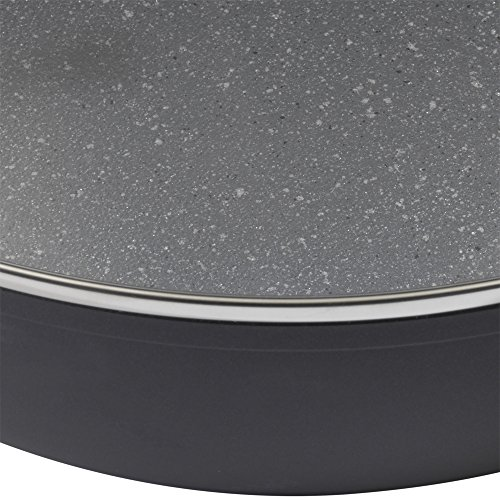 Product Image 8: Bialetti Textured Nonstick 10-Piece Oven-Safe Cookware Set, Gray Impact