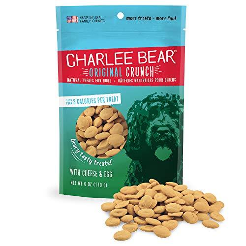 Charlee Bear Original Dog Treats, Cheese and Egg,...