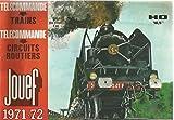 Catalogue JOUEF HO 1971-72 Trains télécommande circuits routiers