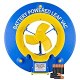 Water Tech Pool Blaster Leaf Vac, Cordless Battery Powered Swimming Pool Leaf Skimmer, Leaf Vacuum is Fast Cleaning and includes a Heavy-Duty Mesh Bag