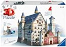 Ravensburger Italy Puzzle 3D Castello di Neuschwanstein, 216 Pezzi, Multicolore, 125739