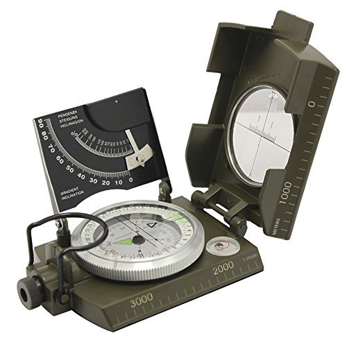 Ueasy Compass,Hiking Boat Military Compass - Multifunction...