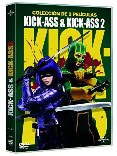 Pack: Kick-Ass 1 + Kick-Ass 2 (Edición 2017) [DVD]