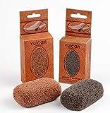 Piedra Pómez volcánica de gran calidad, Pack de 2