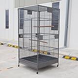 XXL Large Bird Flight Cage Parrot Aviary H80xw35.5xd35.5